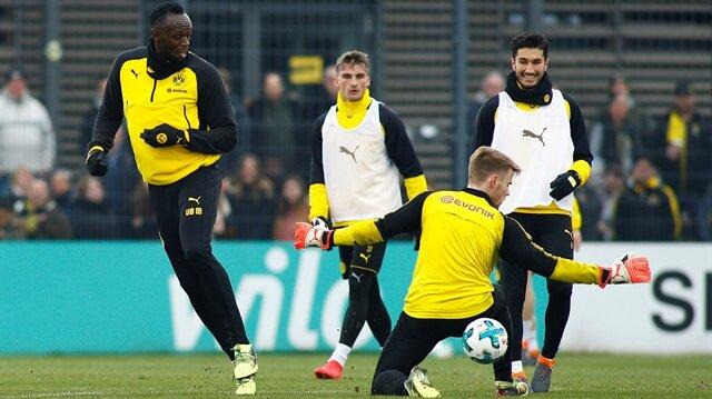 Dortmund idmanında Bolt rüzgarı
