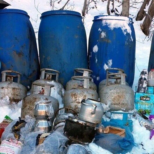 Bingöl'de 26 sığınak imha edildi