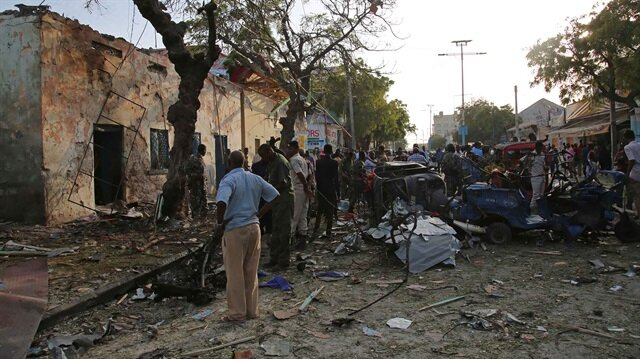 Explosion and gunfire rocks Somali capital near parliament