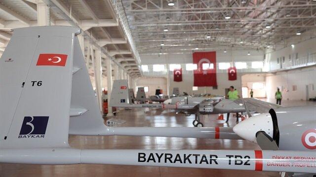 8 طائرات قتالية بدون طيار ومحليّة الصنع يتسلّمها الجيش التركيّ