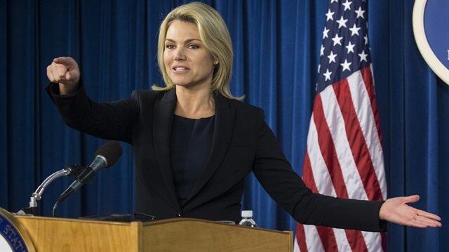 The U.S. State Department spokesperson Heather Nauert