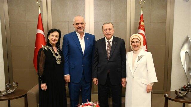 أردوغان يستقبل رئيس وزراء ألبانيا في إسطنبول