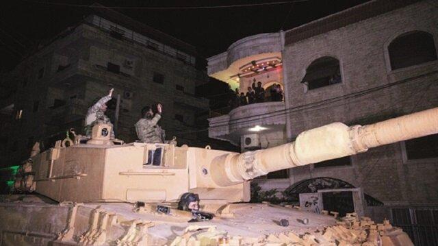 بعد تحريرها من بي كا كا: الجيش التركي يقوم بـ