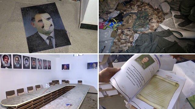 Mehmetçik Afrin'de terör örgütünün ana karargahını buldu