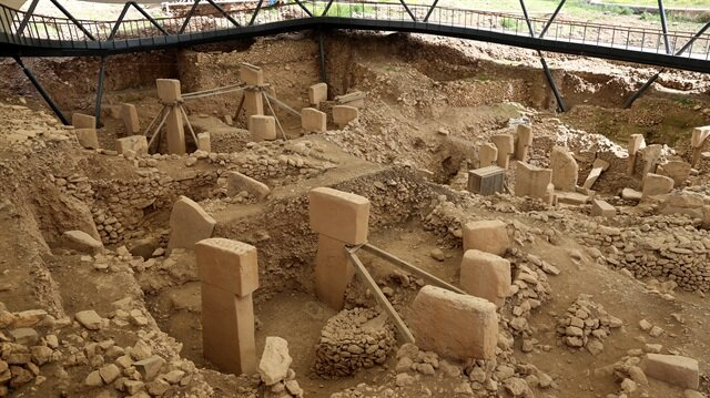 Göbeklitepe in southeastern Turkey, the site of the world's oldest temple