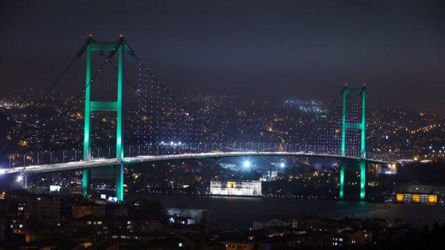 من إسطنبول.. جسور البوسفور تشارك باكستان الشقيقة بيومها الوطني