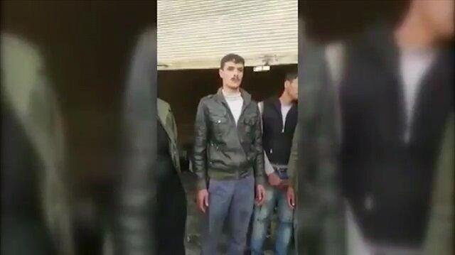 Afrin'de şok görüntüler: ÖSO kılığında hırsızlık yapıp videoya çekiyorlar!