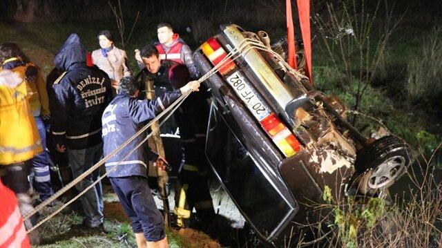 Kazada hayatını kaybedenlerin cenazeleri daha sonra Pamukkale Üniversitesi Hastanesi morguna kaldırıldı.