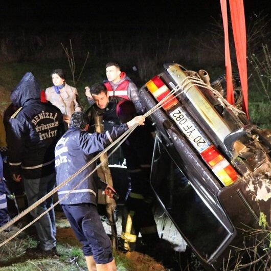 Korkunç kaza: 5 ölü, 1 yaralı