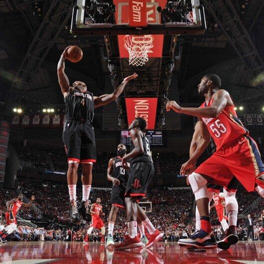 NBA lideri Rockets'tan kulüp rekoru