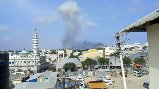 Huge Blast Rocks in Somalia's Capital Mogadishu