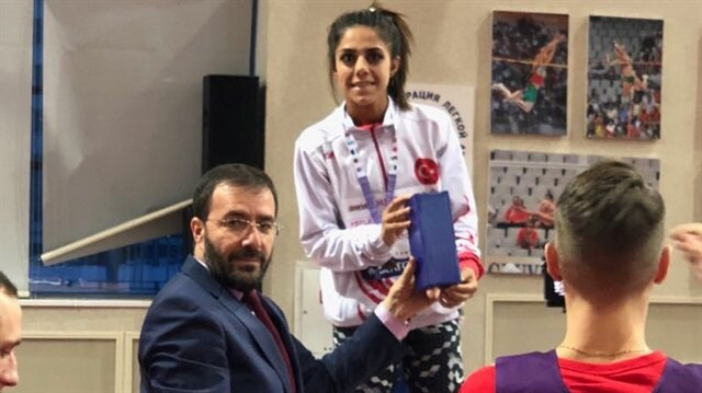 Milli sporcu Meryem'den tarihi başarı