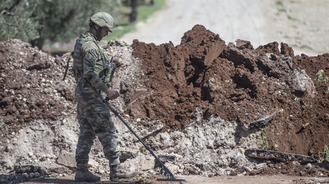 Six Turkish troops killed by Kurdish Workers' Party (PKK) militants