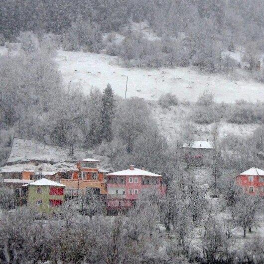 Mart ayının son günlerinde kar sürprizi