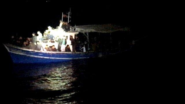 Mersin'de insan kaçakçılığı operasyonunda 112 kişi yakalandı