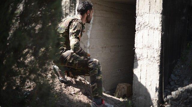 Afrin ilçe merkezi Zeytin Dalı Harekatı kapsamında 18 Mart'ta Türk Silahlı Kuvvetleri ve ÖSO unsurlarınca YPG/PKK'lı teröristlerden temizlendi.