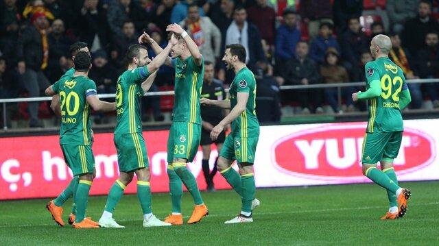 Kayserispor-Fenerbahçe: 0-5