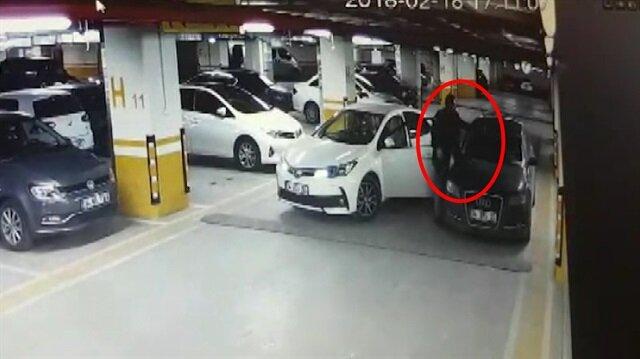 Yanlış yere park eden sürücünün sileceklerini kırdı