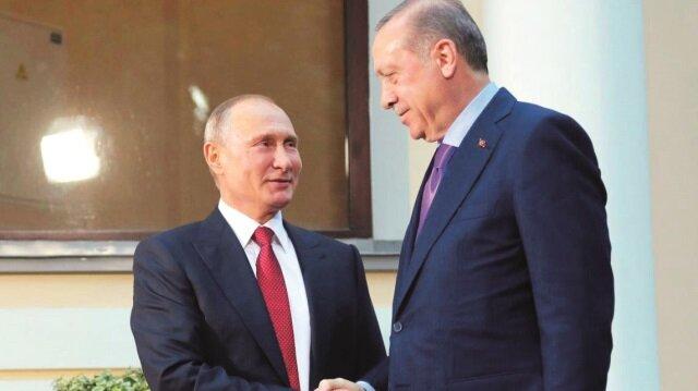 Cumhurbaşkanı Erdoğan ve Rusya Devlet Başkanı Vladimir Putin, provokasyon ve sabotajlara rağmen iki ülke arasındaki ilişkileri eski seviyesine getirmeyi başardı.