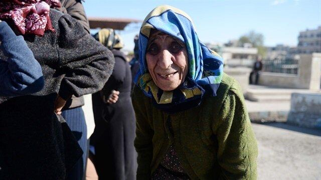 Afrinli Zeynep Nine'nin yardımına Mehmetçik koştu