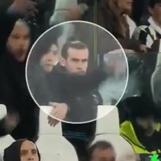 Takım arkadaşı Ronaldo'nun golüne sevinmedi