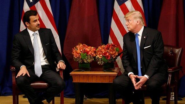 اتصال هاتفي بين أمير قطر وترامب عقب تصريحان مثيرة للأخير