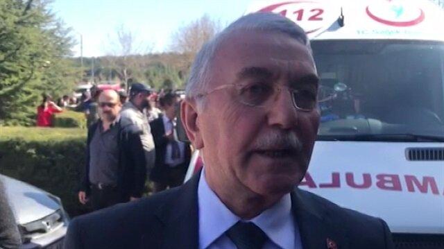 Osmangazi Üniversitesi Rektörü olay anını anlattı