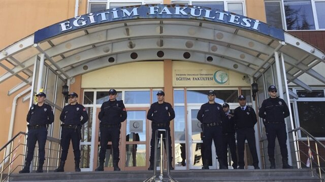 Gunman kills four staff in Turkish university