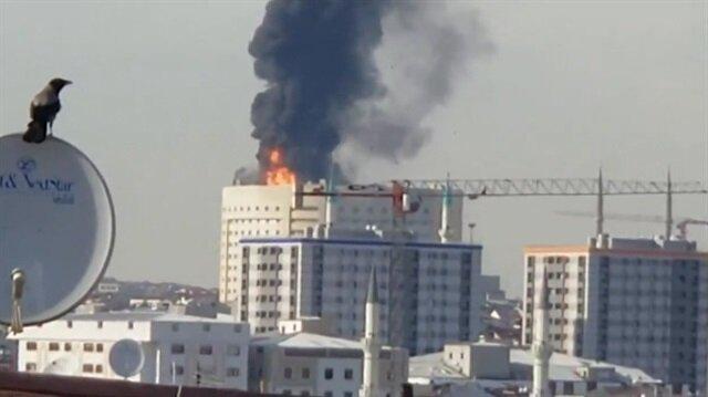 Taksim Eğitim ve Araştırma Hastanesinde yangın çıktı