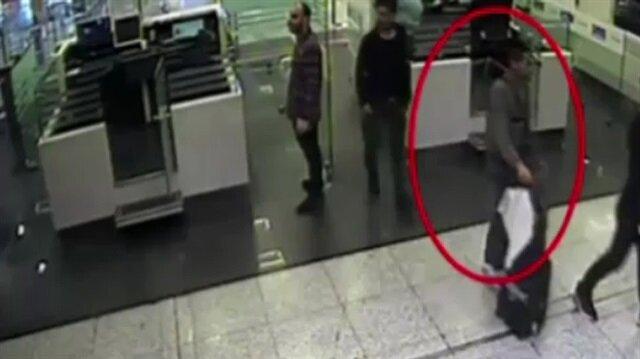 Atatürk Havalimanında uyuşturucu operasyonu kamerada