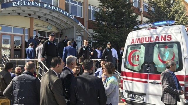 Osmangazi Üniversitesindeki silahlı saldırıya ilişkin idari soruşturma