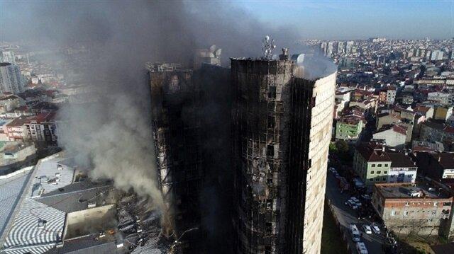Taksim Eğitim ve Araştırma Hastanesi'nde büyük yangın