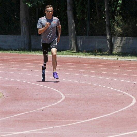 Bakanlıktan anlamlı destek: Koşu protezine kavuştu