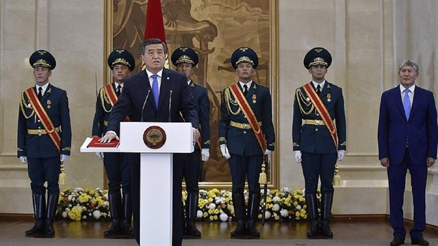Kyrgyzstan's President Sooronbay Jeenbekov will pay an official visit to Turkey next week