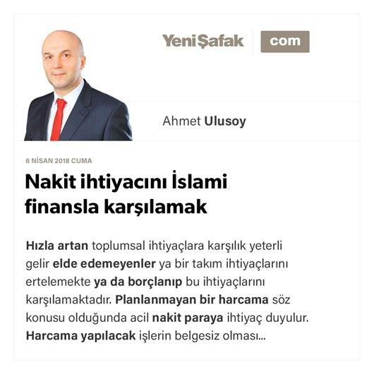 Nakit ihtiyacını İslami finansla karşılamak