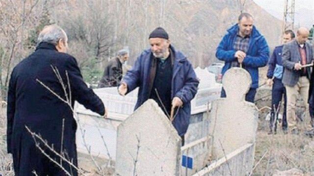 Yusufeli Belediye Başkanı Eyüp Aytekin'den mezar uyarısı.
