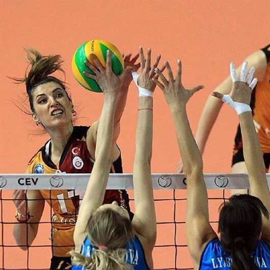 Volleyball: Galatasaray in CEV Champions League final 4