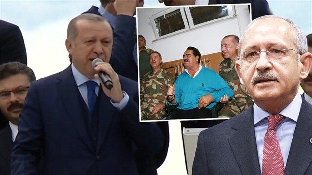 Erdoğan, sanatçılara yüklenen Kılıçdaroğlu hakkında sert konuştu