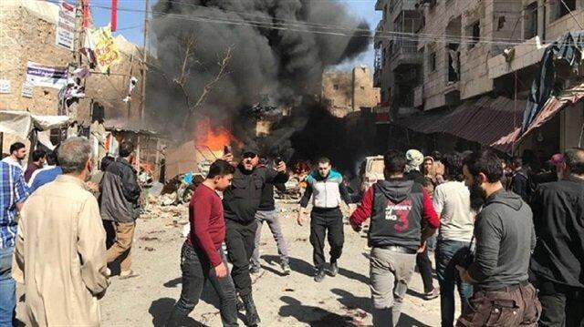 Explosion rocks Syria's al-Bab