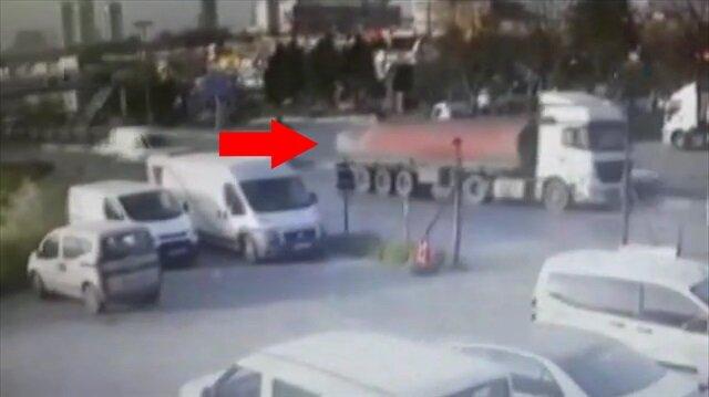 İstanbul'da tanker ortalığı savaş alanına çevirdi