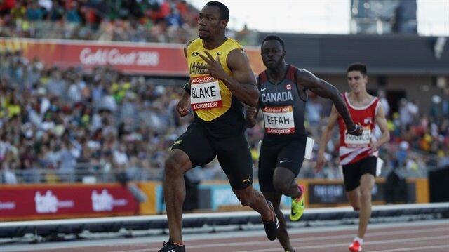 Jamaica's former world champion Yohan Blake