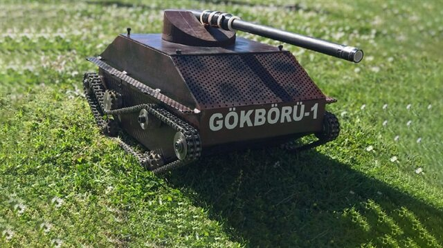 ktü insansız tank ile ilgili görsel sonucu