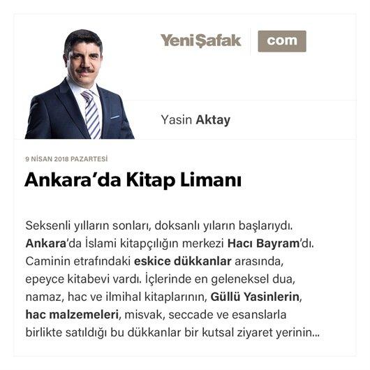 Ankara'da Kitap Limanı