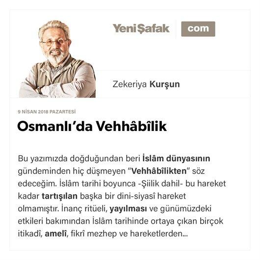 Osmanlı'da Vehhâbîlik