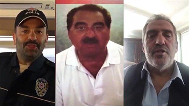 Ünlülerden Türk Polisine mesaj