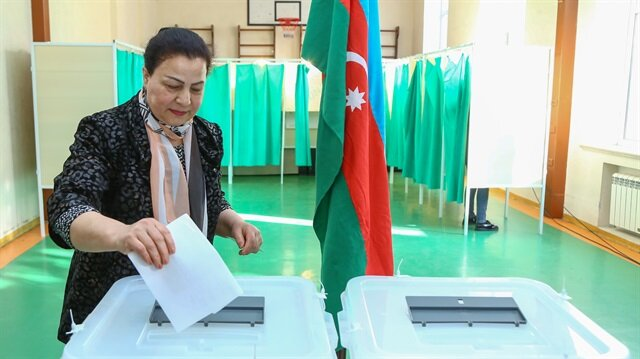 Azerbaijan's voter turnout in presidential election as of 15:00 - 60.74%