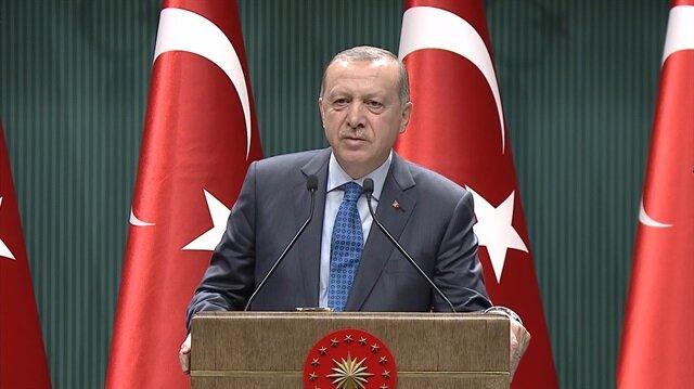 Erdoğan'dan dünyaya çağrı: Bir yudum suya muhtaç insanları görün