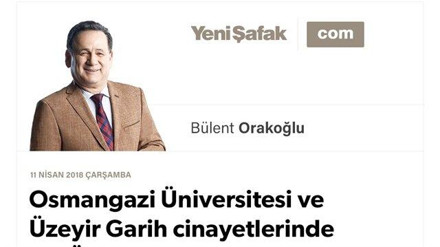 Osmangazi Üniversitesi ve Üzeyir Garih cinayetlerinde FETÖ intihar eylemcileri
