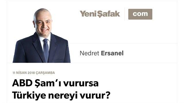 ABD Şam'ı vurursa Türkiye nereyi vurur?