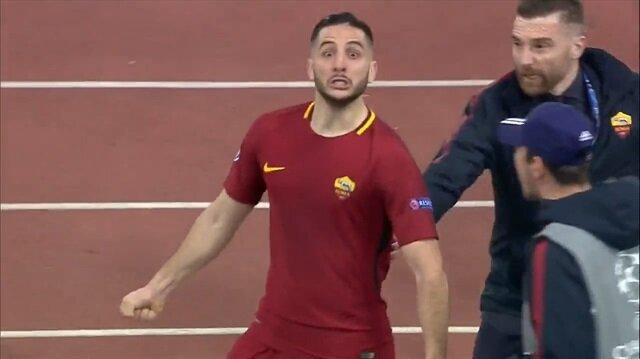 Roma'ya turu getiren gol İtalyan spikeri çıldırttı!
